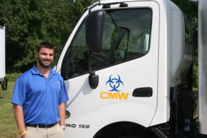 Matt Georgov and Choice Medwaste Truck