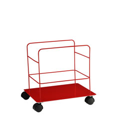 8 Gallon Sharps Container Rolling Cart